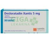 Desloratadin Xantis 5mg tbl.nob.30x5mg