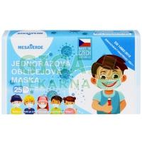 Dětská rouška Mesaverde 25 ks kluk