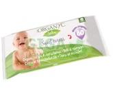 Organyc dětské čis.ubrousky z biob. 60ks