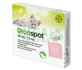 Obrázek Dronspot 30mg/7.5mg malé kočky spot-on 2x0.35ml