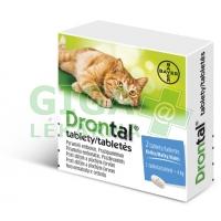 Drontal 2 tablety pro kočky