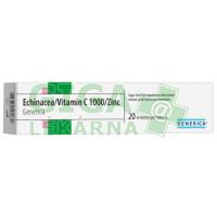 Echinacea+Vitamin C 1000+Zinc Generica 20 šumivých tablet