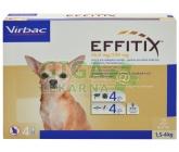 Effitix pro psy Spot-on XS (1,5-4 kg )4 pipety