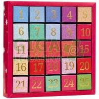 English Tea Shop Adventní kalendář Číselný 25 pyramidek 050889