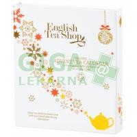 English Tea Shop Adventní kalendář kniha bílá Bio 24ks