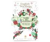 Obrázek English Tea Shop Bílý adventní kalendář Bio 24ks