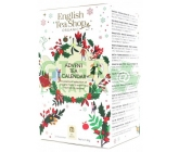 English Tea Shop Bílý adventní kalendář Bio 24ks