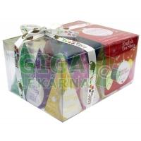 English Tea Shop Bio Kolekce červené ozdoby 12 pyramidek