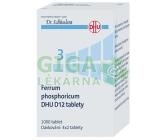 No.3 Ferrum phosphoricum DHU D12 1000tb.