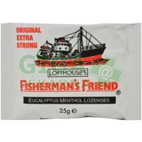 Fishermans friend bonbóny originál extra silné 25g bílé