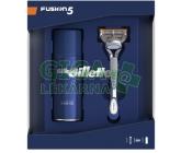 Gillette Dárkové balení Fusion5 Holicí strojek+Gel