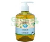 Green Pharmacy Tekuté mýdlo Heřmánek a len 460ml