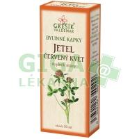 Grešík kapky Jetel červený květ 50ml