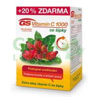 GS Vitamin C1000 + šípky tbl.100+20