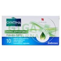 Gyntima Probiotica vaginální čípky FORTE 10ks