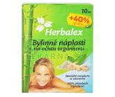 Herbalex bylin. detoxik. náplasti 10ks +40% gratis