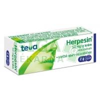 Herpesin krém 2g 5%