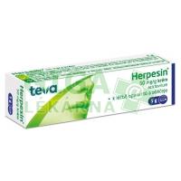 Herpesin krém 5g 5%