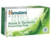 Himalaya Herbals toaletní mýdlo Nimbo a Kurkuma 75 g