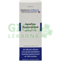 Hyaluron N-Medical 100% kyselina hyaluronová 100ml