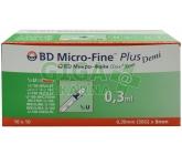 Inzulin.stříkačky BD 0.3mlx8mm DEMI U-100 100ks