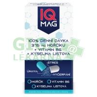 IQ Mag hořčík 375 mg + B6 + kys.listová 60tob
