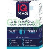 IQ Mag ranní/večerní 60 kapslí