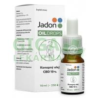 Jadon oil drops konopný olej CBD 10% 10 ml (1000 mg)