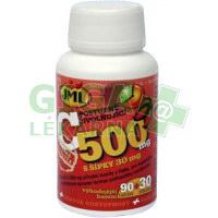 JML Vitamin C 500mg s šípky 120 tablet