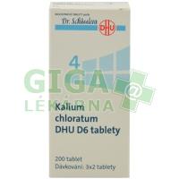 Kalium chloratum DHU 200 tablet D6 (No.4)