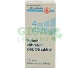 No.4 Kalium chloratum DHU D6 200tbl.