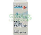 No.4 Kalium chloratum DHU 80 tablet D5-D30