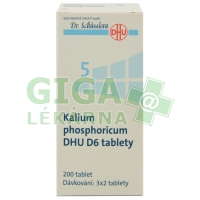 Kalium phosphoricum DHU 200 tablet D6 (No.5)