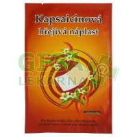 Kapsaicinová hřejivá náplast 12x18cm 1ks CAPSICOLLE