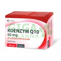 Koenzym Q10 60mg se sezamovým olejem cps.60
