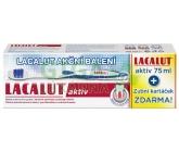 Lacalut Aktiv 75 ml zubní pasta + zubní kartáček ZDARMA