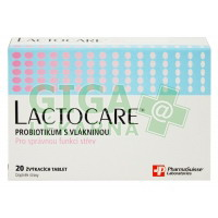 Lactocare PharmaSuisse 20 tablet