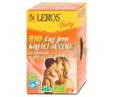 Obrázek LEROS BABY BIO Čaj pro kojící matky nálevové sáčky 20x2g