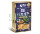 Lifefood Life crackers BIO konopné s chia 90g