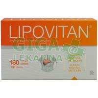 Lipovitan 180+30 tablet