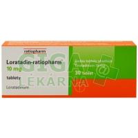 Loratadin-Ratiopharm 10mg 30 tablet