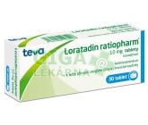 Obrázek Loratadin-Ratiopharm 10mg 30 tablet