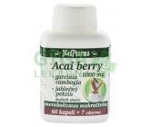 MedPharma Acai berry 1000mg+Garcinia cps.67
