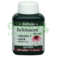 MedPharma Echinacea 100mg+vit.C+zinek 107 tablet