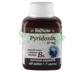 MedPh Pyridoxin (B6) 20mg 67tbl.