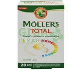 Mollers Total Omega 3 cps.28 +vitam.a miner.tbl.28