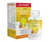 MOVit Omega 3 Rybí Olej + Multivitamin Premium 60+30 tobolek