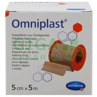 Náplast Omniplast textilní 5cmx5m