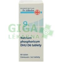 Natrium phosphoricum DHU 80 tablet D6 (No.9)