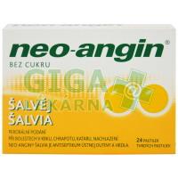 Neo-angin šalvěj 24 pastilek